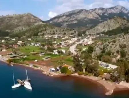 Marmaris İlçesi Orhaniye Köyünde Denize Sıfır 6000 M2 Satılık Koy
