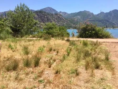 Marmaris Orhaniye Köyünde Denize Sıfır 1750M2 Yatırım İçin Uygun Satılık Arsa