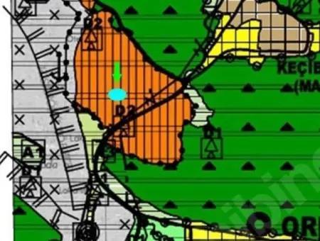 Marmaris Orhaniye Mahallesinde Satılık 672M2 Arsa Yatırım İçin